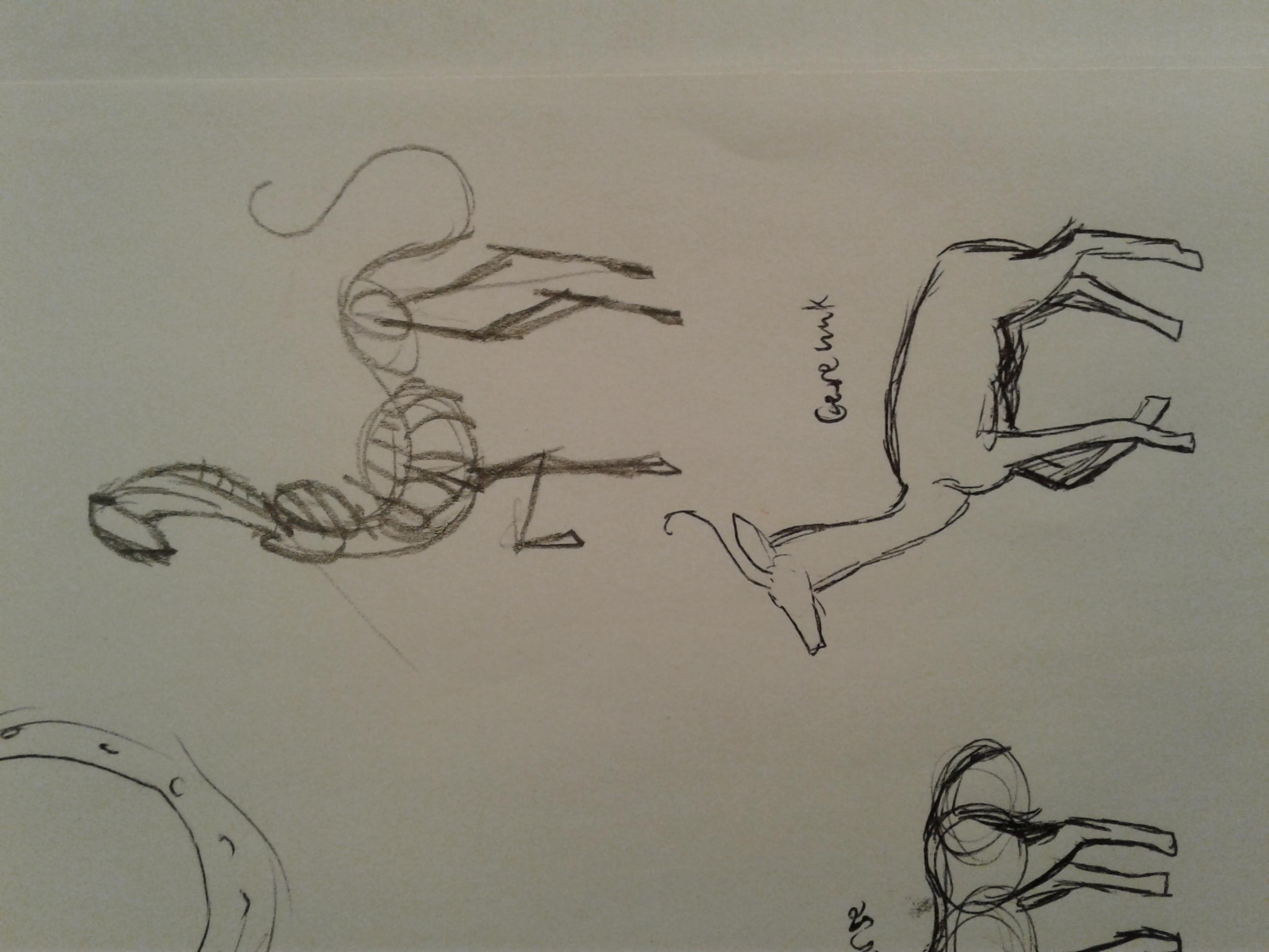 Andalite sketch by Jade
