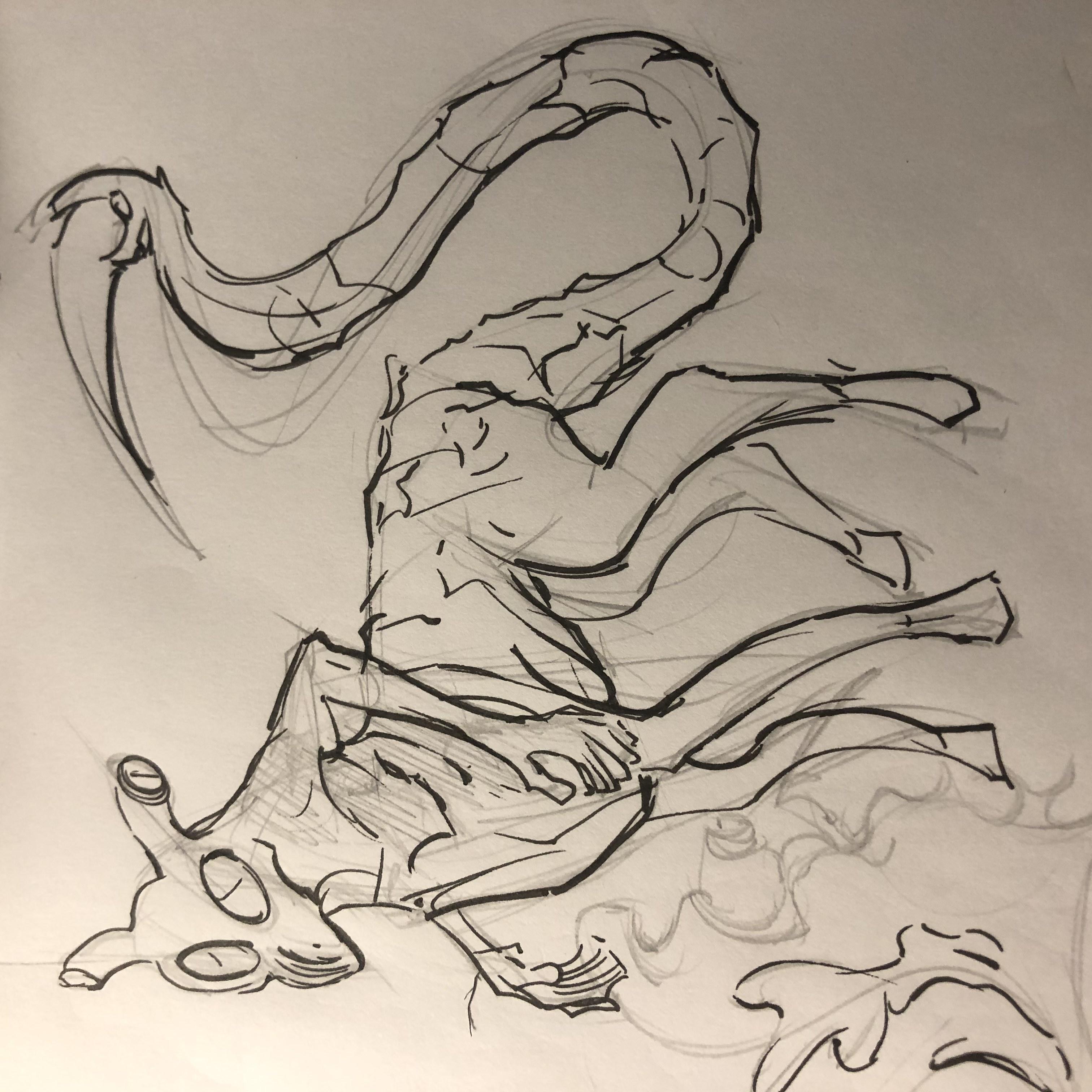 Andalite sketch by @SKY99R