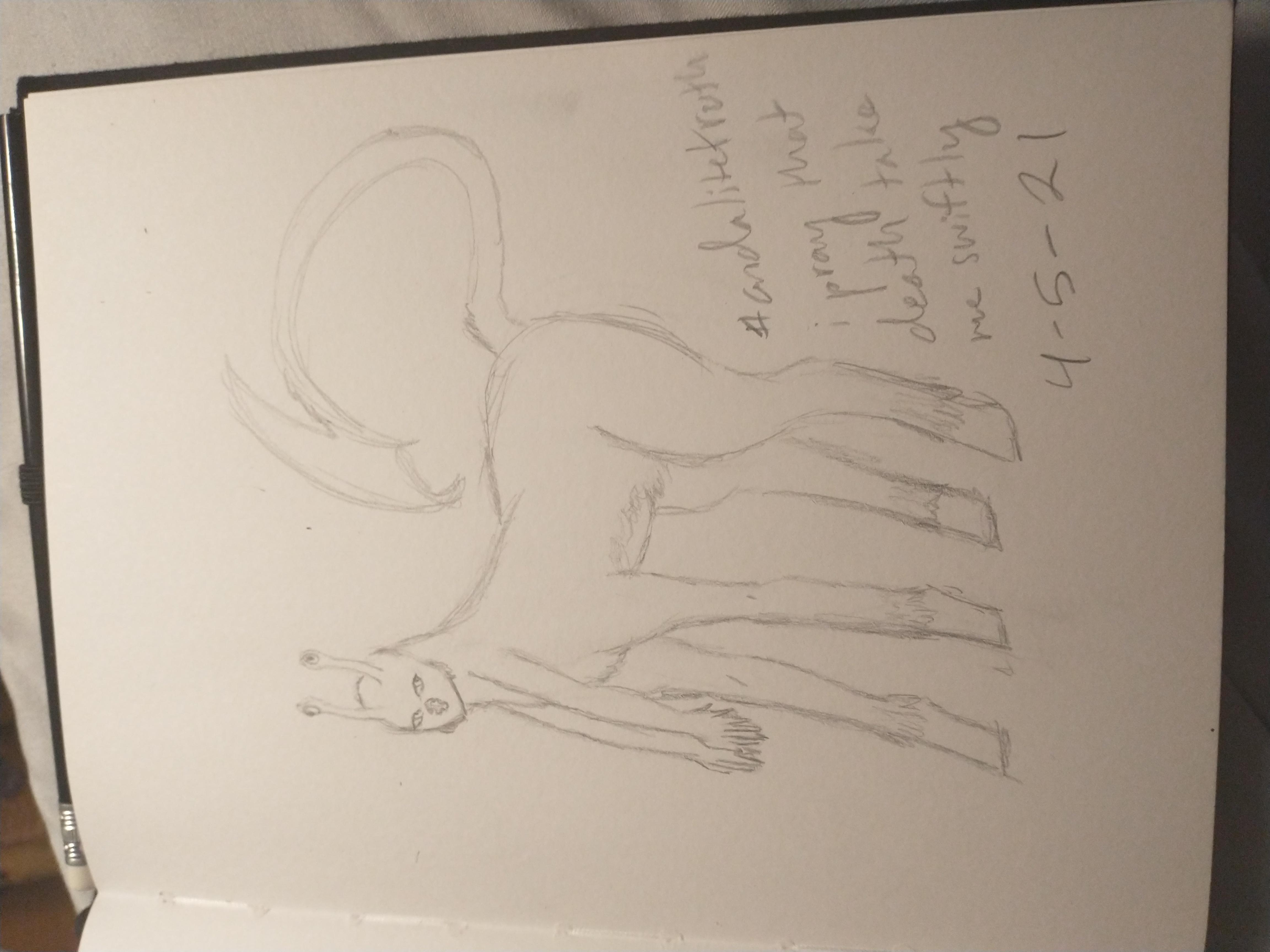 Andalite sketch by Ann
